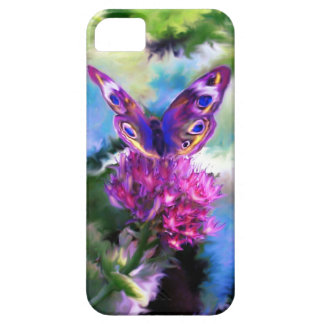 Colorful Abstract Butterfly Painting Case For The iPhone 5