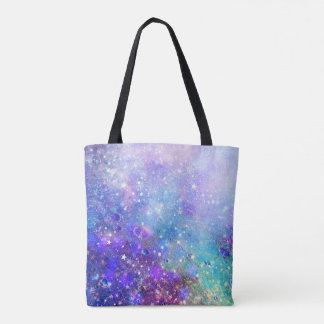 Colorful Abstract Deep Space Background Tote Bag