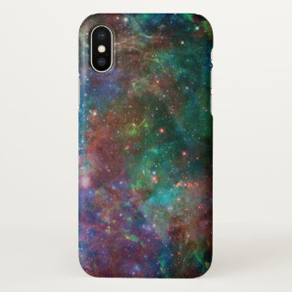 Colorful Abstract Deep Space Light iPhone X Case