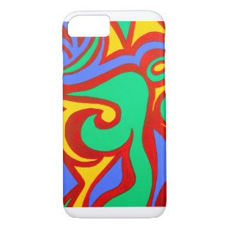 Colorful abstract design. iPhone 7 case