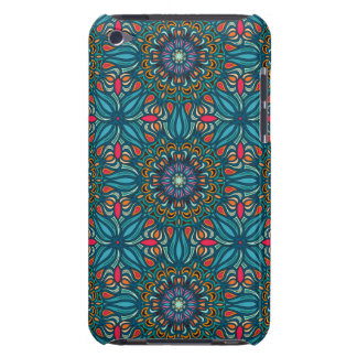 Colorful abstract ethnic floral mandala pattern barely there iPod cover