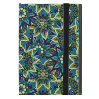 Colorful abstract ethnic floral mandala pattern case for iPad mini