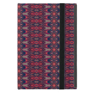 Colorful abstract ethnic floral mandala pattern cover for iPad mini