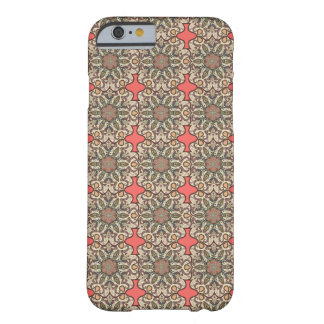 Colorful abstract ethnic floral mandala pattern de barely there iPhone 6 case