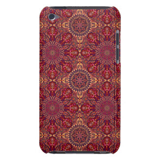 Colorful abstract ethnic floral mandala pattern de barely there iPod cover