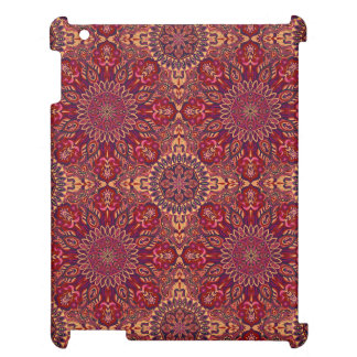 Colorful abstract ethnic floral mandala pattern de case for the iPad 2 3 4