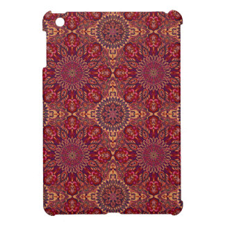 Colorful abstract ethnic floral mandala pattern de case for the iPad mini