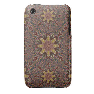 Colorful abstract ethnic floral mandala pattern de Case-Mate iPhone 3 case