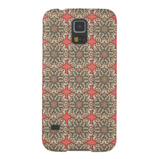 Colorful abstract ethnic floral mandala pattern de cases for galaxy s5