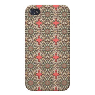Colorful abstract ethnic floral mandala pattern de covers for iPhone 4