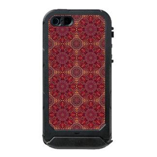 Colorful abstract ethnic floral mandala pattern de incipio ATLAS ID™ iPhone 5 case