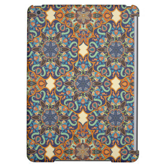 Colorful abstract ethnic floral mandala pattern de iPad air case