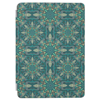 Colorful abstract ethnic floral mandala pattern de iPad air cover