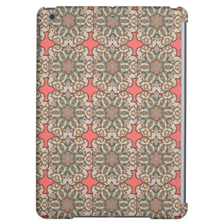 Colorful abstract ethnic floral mandala pattern de iPad air covers
