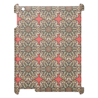 Colorful abstract ethnic floral mandala pattern de iPad covers