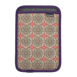 Colorful abstract ethnic floral mandala pattern de iPad mini sleeve