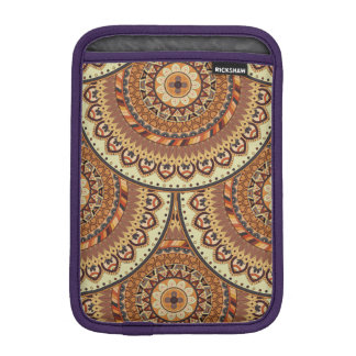 Colorful abstract ethnic floral mandala pattern de iPad mini sleeve