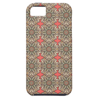 Colorful abstract ethnic floral mandala pattern de iPhone 5 case