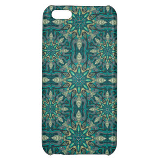 Colorful abstract ethnic floral mandala pattern de iPhone 5C cover