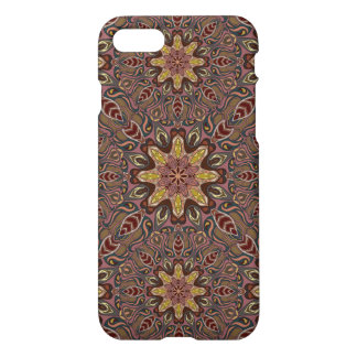 Colorful abstract ethnic floral mandala pattern de iPhone 7 case