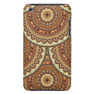 Colorful abstract ethnic floral mandala pattern de iPod touch Case-Mate case