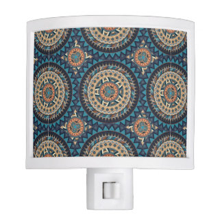 Colorful abstract ethnic floral mandala pattern de nite lite
