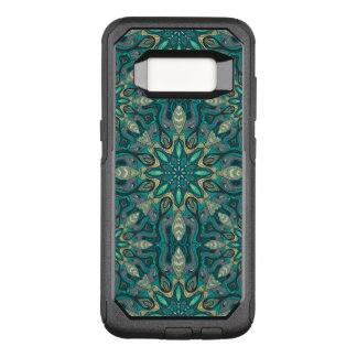 Colorful abstract ethnic floral mandala pattern de OtterBox commuter samsung galaxy s8 case
