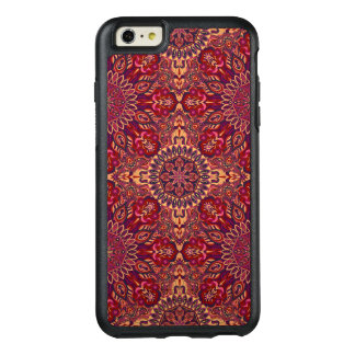 Colorful abstract ethnic floral mandala pattern de OtterBox iPhone 6/6s plus case