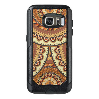 Colorful abstract ethnic floral mandala pattern de OtterBox samsung galaxy s7 case