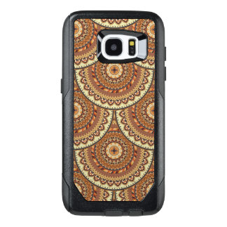 Colorful abstract ethnic floral mandala pattern de OtterBox samsung galaxy s7 edge case