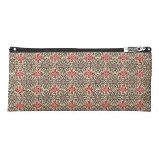 Colorful abstract ethnic floral mandala pattern de pencil case