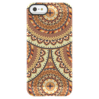 Colorful abstract ethnic floral mandala pattern de permafrost® iPhone SE/5/5s case