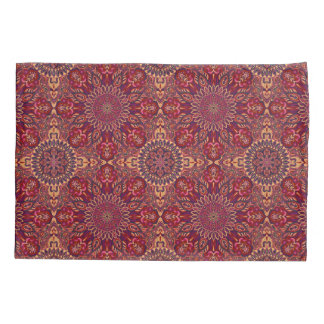 Colorful abstract ethnic floral mandala pattern de pillowcase