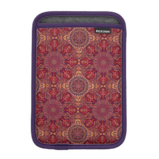 Colorful abstract ethnic floral mandala pattern de sleeve for iPad mini