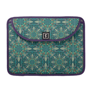 Colorful abstract ethnic floral mandala pattern de sleeves for MacBooks