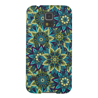 Colorful abstract ethnic floral mandala pattern galaxy s5 case