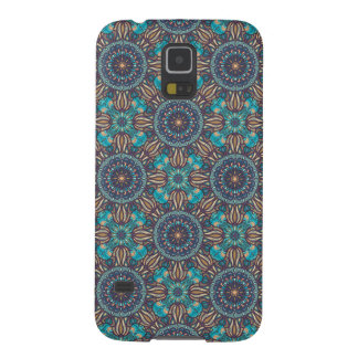 Colorful abstract ethnic floral mandala pattern galaxy s5 cases