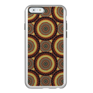 Colorful abstract ethnic floral mandala pattern incipio feather® shine iPhone 6 case