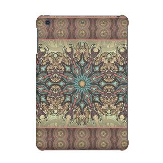 Colorful abstract ethnic floral mandala pattern iPad mini retina cases