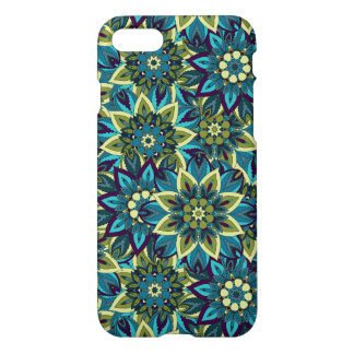 Colorful abstract ethnic floral mandala pattern iPhone 7 case