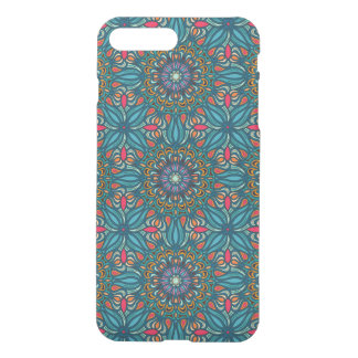 Colorful abstract ethnic floral mandala pattern iPhone 7 plus case