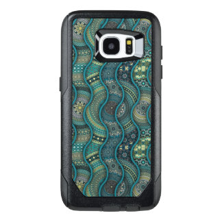 Colorful abstract ethnic floral mandala pattern OtterBox samsung galaxy s7 edge case