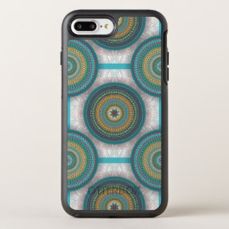 Colorful abstract ethnic floral mandala pattern OtterBox symmetry iPhone 8 plus/7 plus case