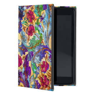 Colorful Abstract Floral Collage Cover For iPad Mini
