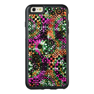 Colorful Abstract Flower Pattern OtterBox iPhone 6/6s Plus Case