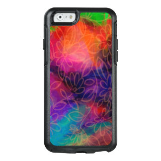 Colorful Abstract Flower Power OtterBox iPhone 6/6s Case