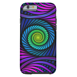 Colorful Abstract Fractal Tough iPhone 6 Cases