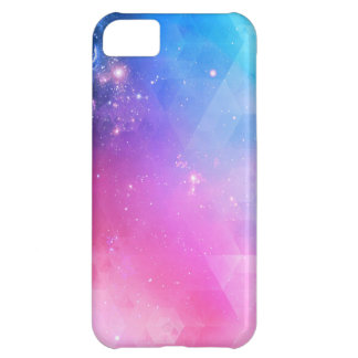 Colorful Abstract Geometric Sky Galaxy iPhone 5C Cases