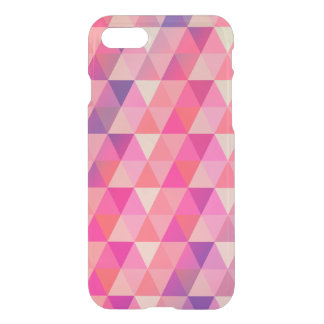 Colorful Abstract Geometric Triangles Design iPhone 7 Case