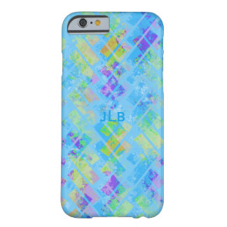 Colorful Abstract Herringbone Barely There iPhone 6 Case